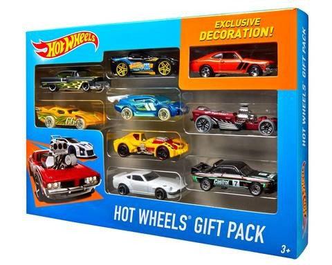 9 Pack Hot Wheels Car Assortments
