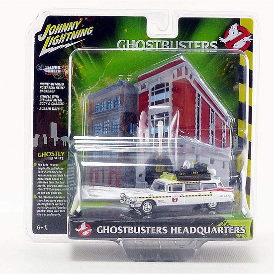 Ghost Busters Ecto-1A & Fire House