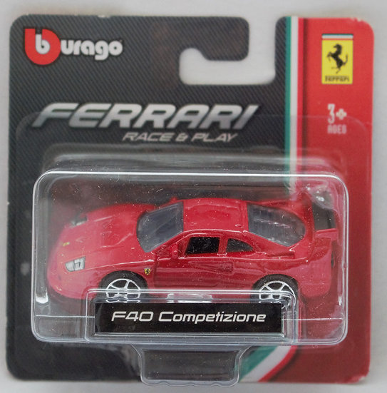 F40 Competizione – Red