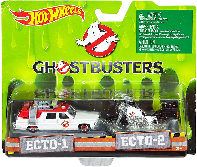 Ghostbusters ECTO-1 & ECTO-2
