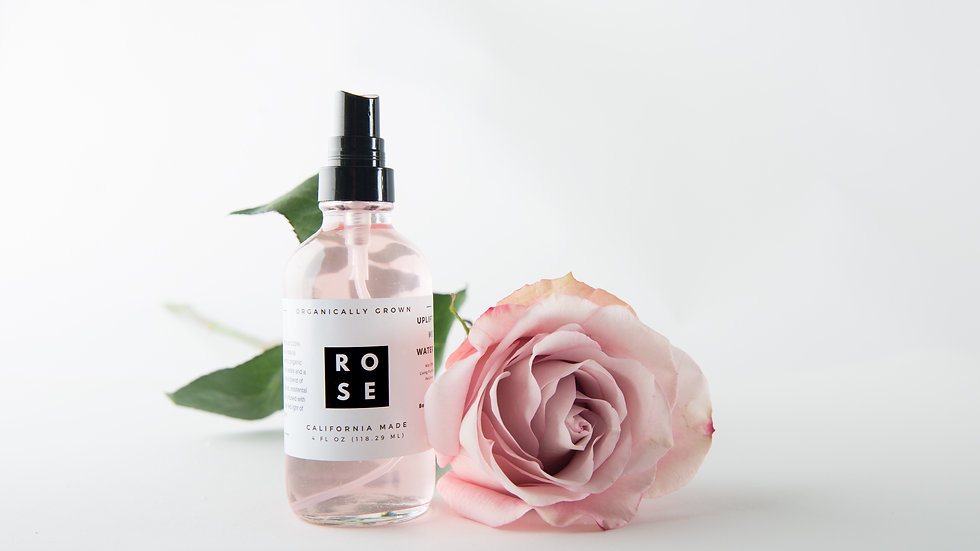 Organic Red Rose Water