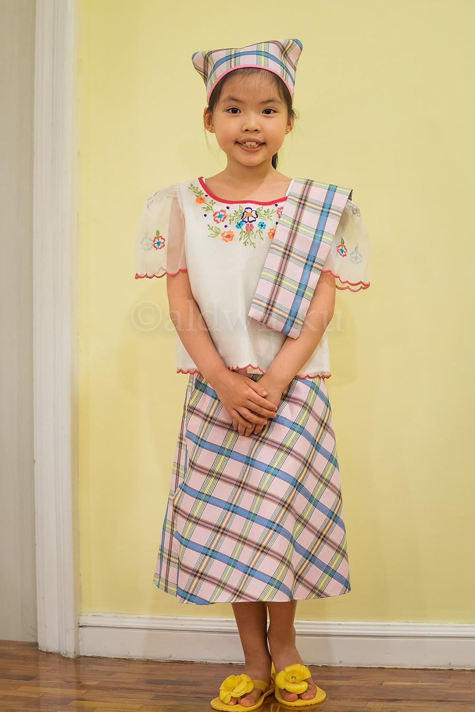 Barong Tagalog And Filipiniana Dress For Kids