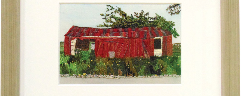 ©The Red Shed by Kaye Fitchett.