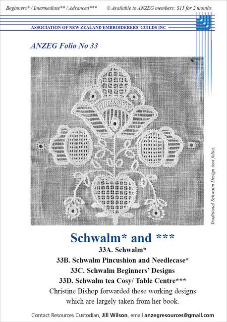 ANZEG Folios33: Schwalm