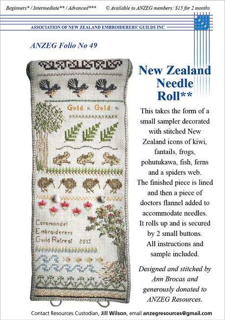 ANZEG Folios49: NZ Needle Roll