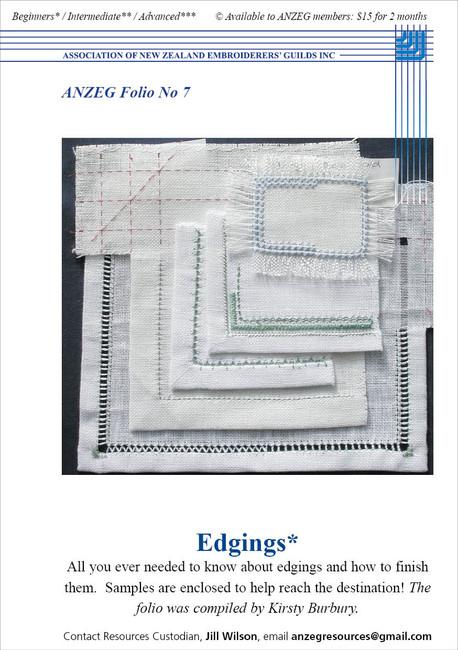 ANZEG Folios7: Edges