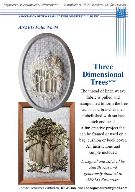 ANZEG Folios34: 3D trees