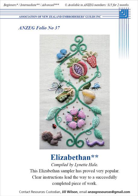 ANZEG Folios37: Elizabethan