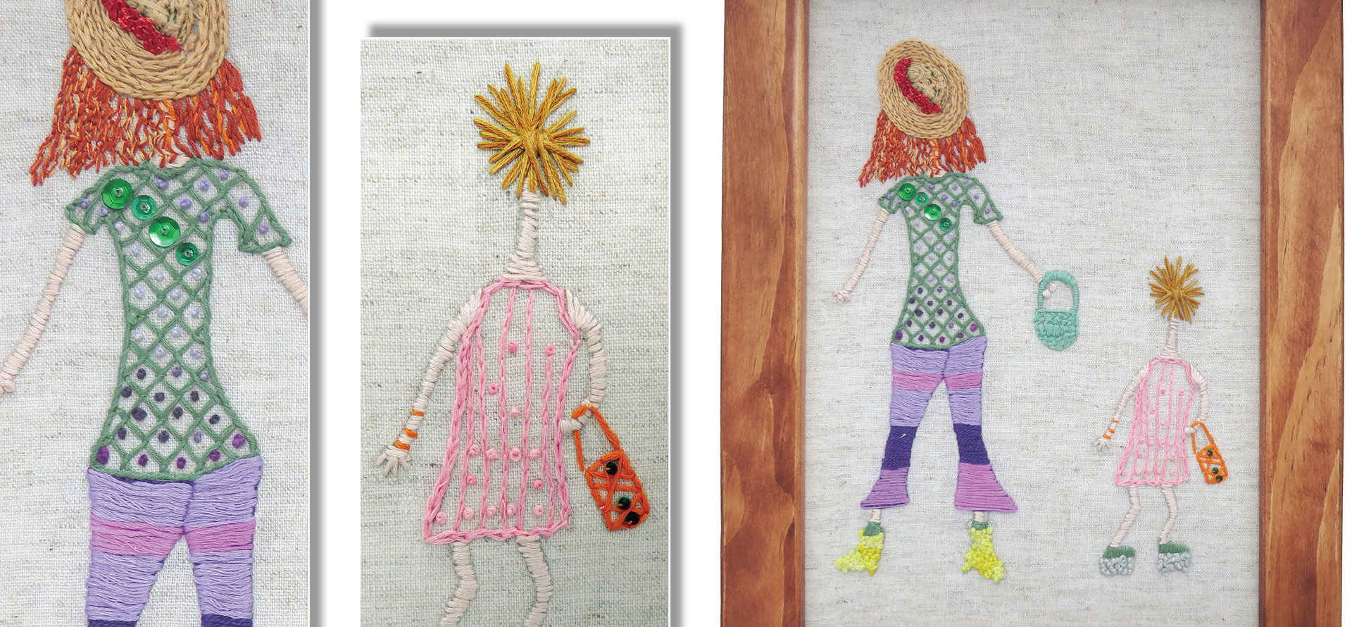 CRAZY LADIES by Sasha Maclean, age 12. New Plymouth Guild.