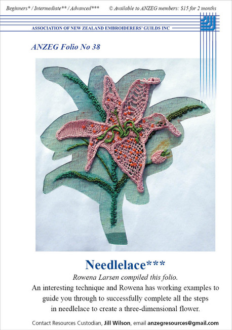 ANZEG Folios38: Needlelace