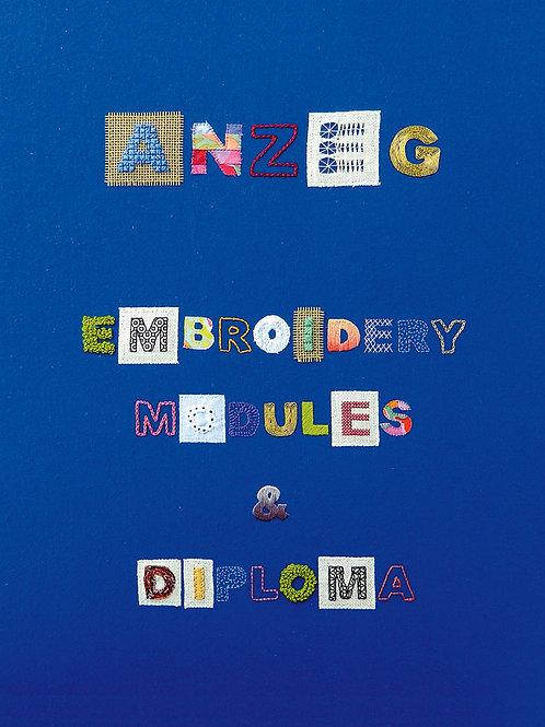 ANZEG Embroidery Modules & Diploma manual