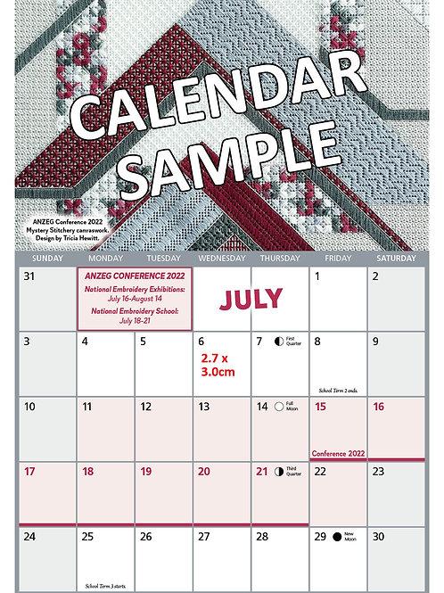 ANZEG 2022 Calendar