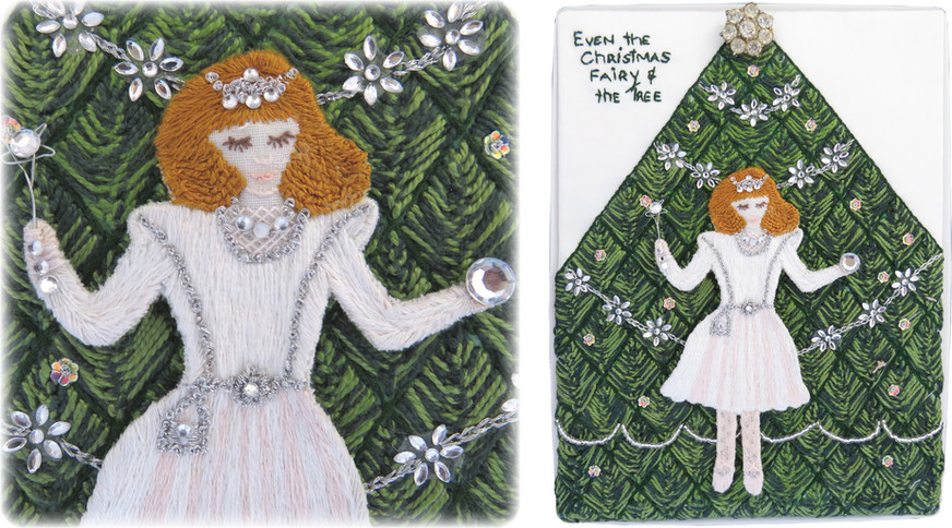 © Even The Christmas Fairy And The Tree by Helen Milbank, Auckland.