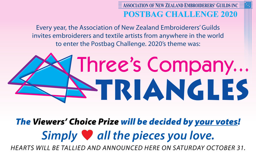 ANZEG Postbag Challenge 2020: Three's Company...Triangles