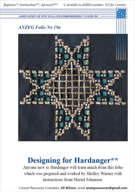 ANZEG Folios19a: Designing for Hardanger