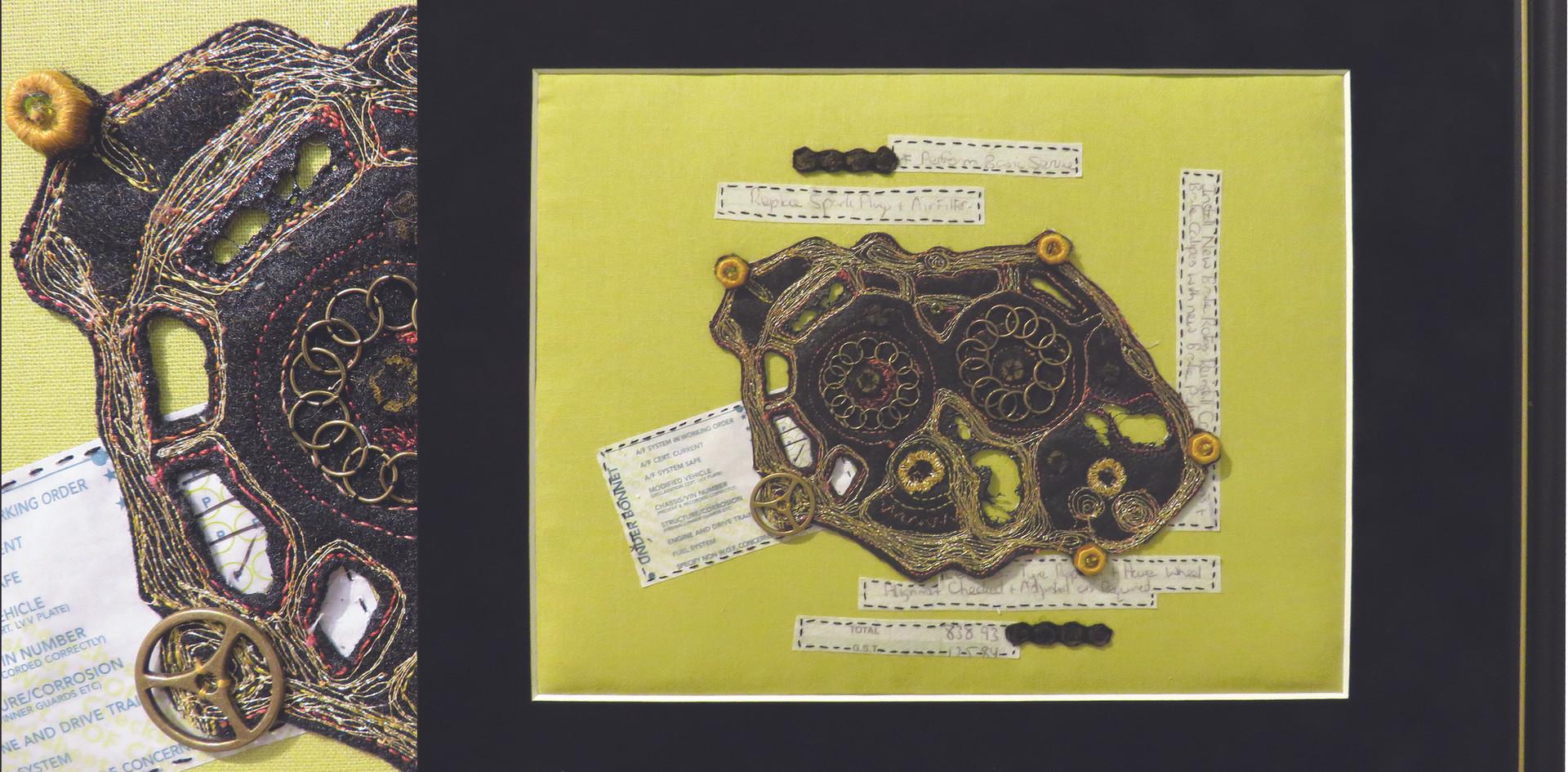 MERIT: ©GETTING AROUND (IN MY HONDA) by Donna Kennedy, Kapiti.