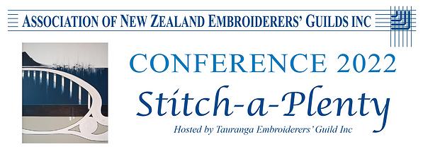 ANZEG Conference 2022 Stitch A Plenty.pn