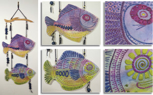 ONE FISH, TWO FISH by Claire North, Marlborough Guild.