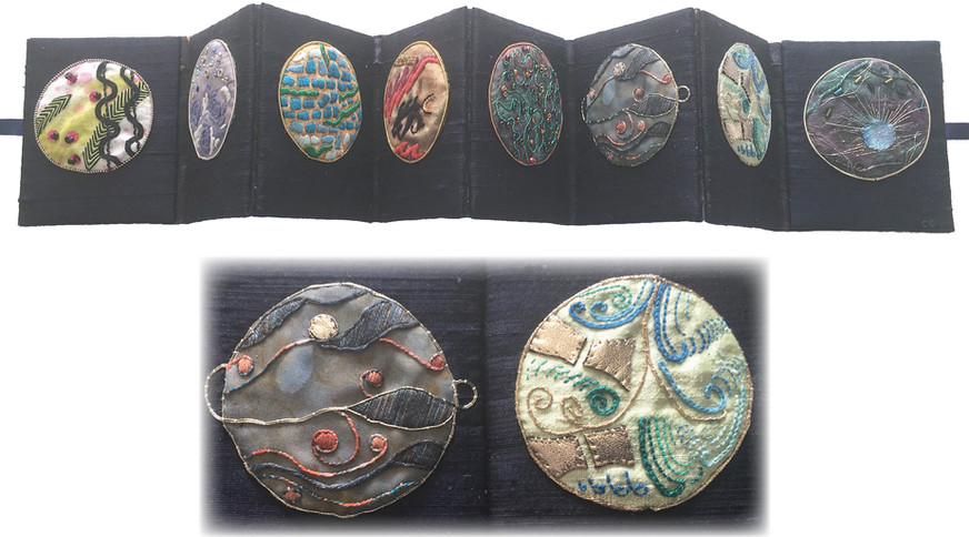 ©THE PLANETS by Caroline Strachan, Lower Hutt.