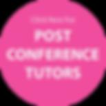 Post ANZEG Conference 2020 Touring Tutors
