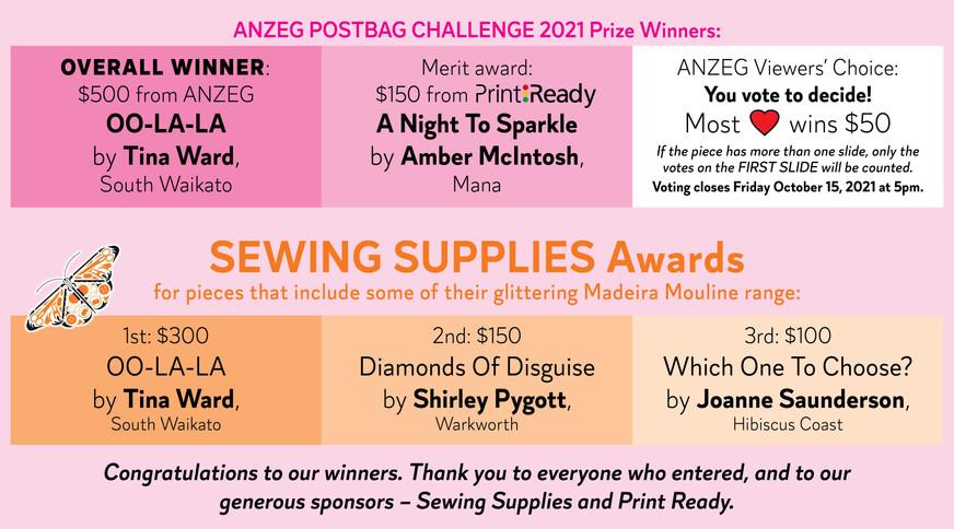 ANZEG Postbag Challenge 2021: Diamonds are a Girl's Best Friend