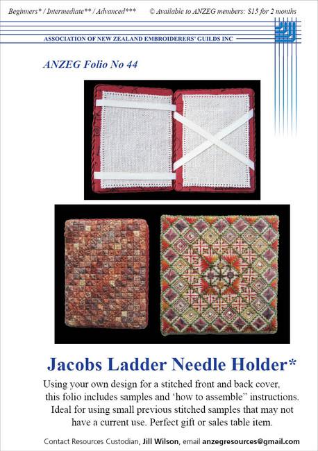 ANZEG Folios44: Jacob's ladder needle holder