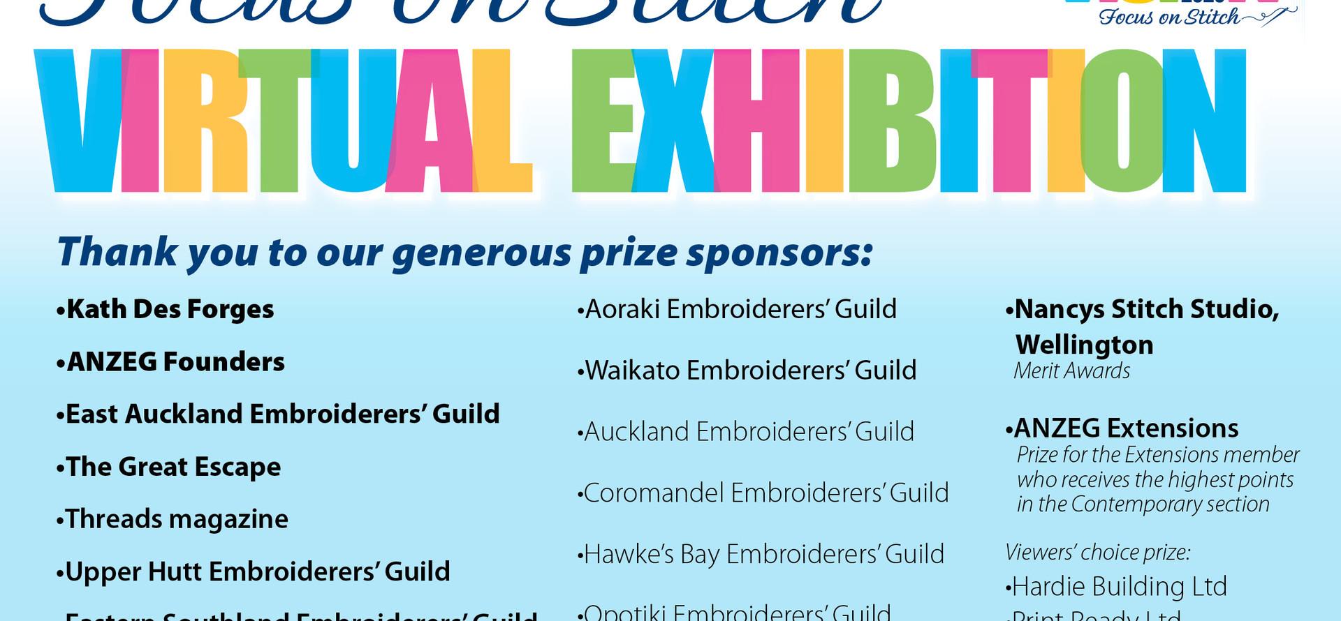 ANZEG Virtual Exhibition Sponsors