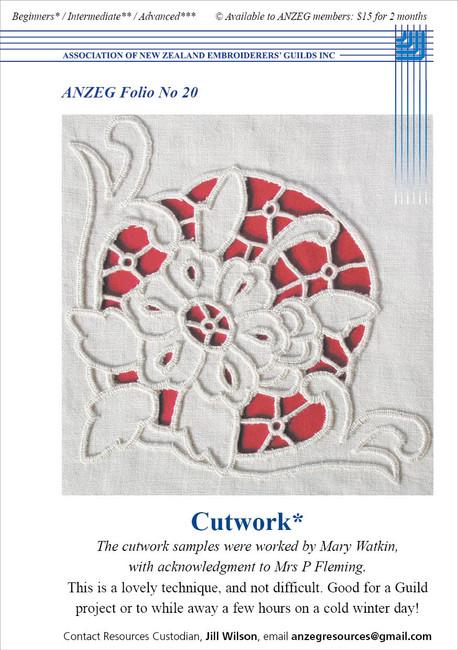 ANZEG Folios20: Cutwork