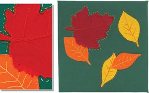 LEAVES IN THE WIND by Keryn Parkin, 14. (Lower Hutt).