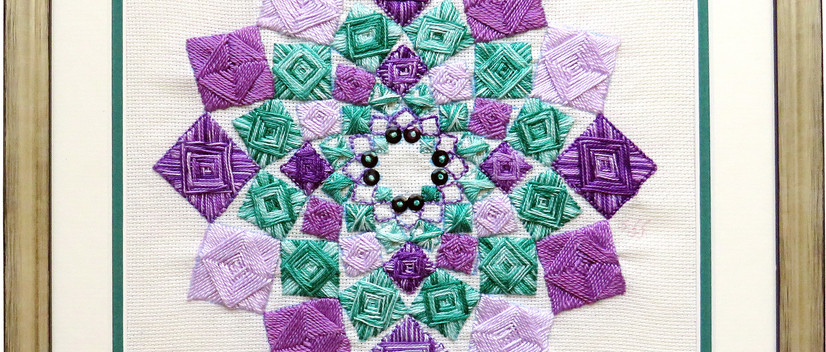©A KALEIDOSCOPE OF SQUARES by Shuna Giles.