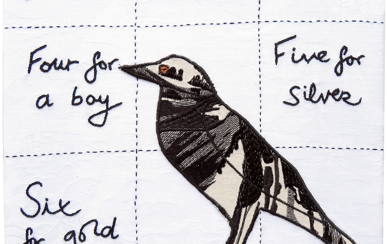 ©MAGPIE SONG SQUARED by Felicity Willis.