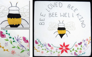 BEE LOVED, BEE KIND, BEE WELL by Maddison Henderson, 14. (Wellington).