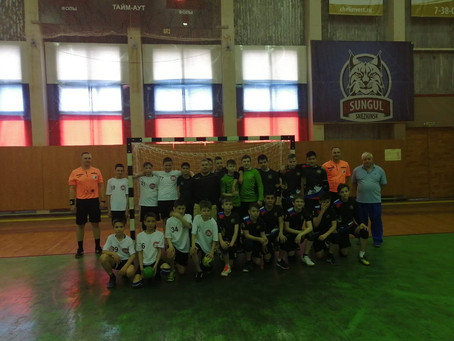 Полуфинальный этап первенства России по гандболу среди юношей 2008-2009 годов рождения