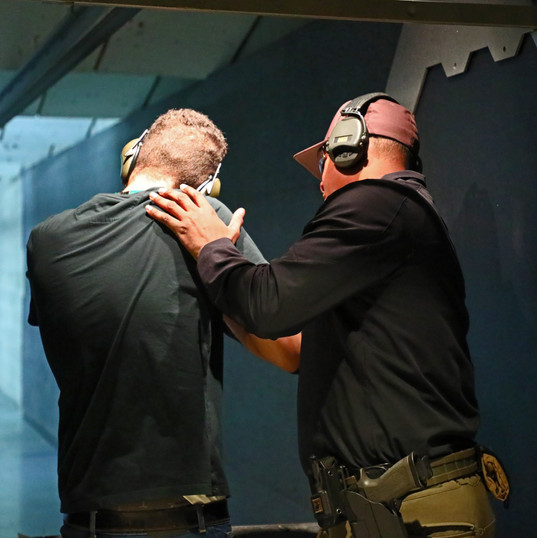 Our Expert Firearms Instructor Gino