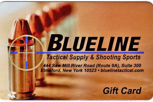 BLUELINE Gift Card