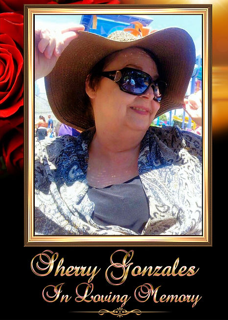 Sherry Gonzales Memorial Website and Tribute