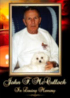 John McCulloch Memorial Website Tribute