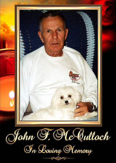 John McCulloch Memorial Website Tribute