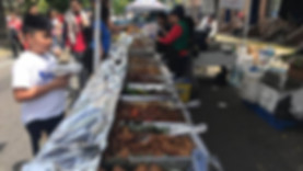 Food Vendors during Santacruzan