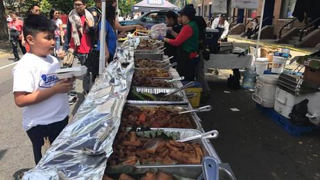 Food Vendors during Santacruzan