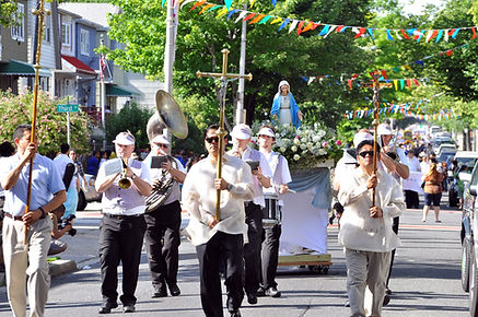 One of what occurs during the Procession in our event