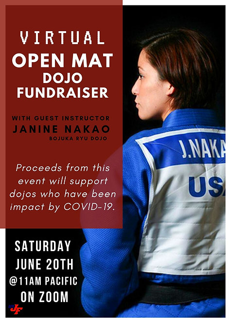 Virtual Open Mat with Janine Nakao - 6/20/20 at 11am Pacific
