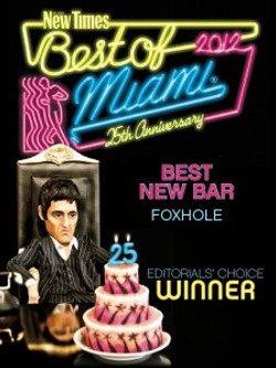 Best New Bar Award
