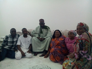 A NIGERIAN EMIR AND ONENESS MEMBERS
