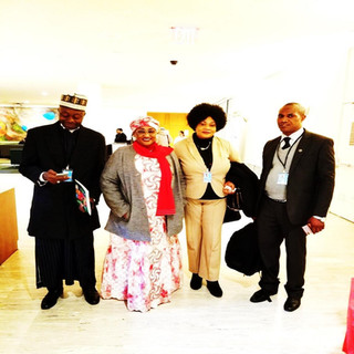 Nigeria Minister for Women Affairs With Oneness foundation President