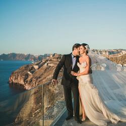 Bride Marriam, Hairshop Santorini