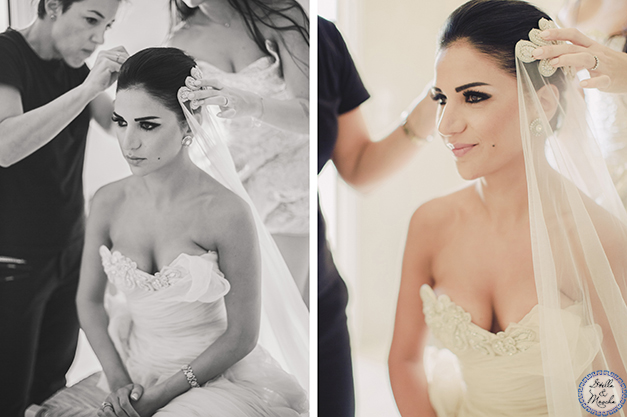 Bride Mariam, Hairshop Santorini