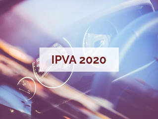 IPVA 2020 no RJ deverá ser quitado por meio de 3 boletos diferentes