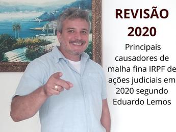Revisão - principais causas de malha fina em recebimentos judiciais RRA no ano de 2020