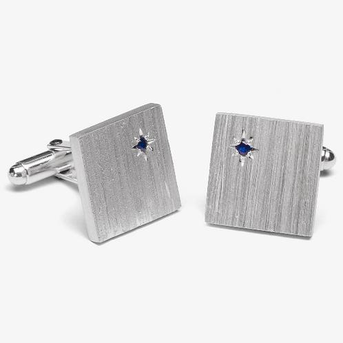 Australian Sapphire Cufflinks